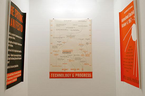 Sputnik Day Posters