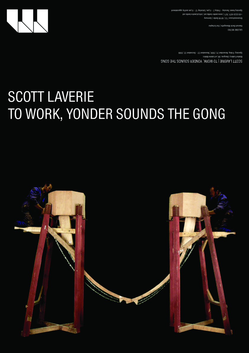 Scott Laverie | To Work, Yonder Sounds The Gong